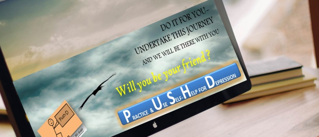 PUSH-D, internet-based self-help for Depression therapy